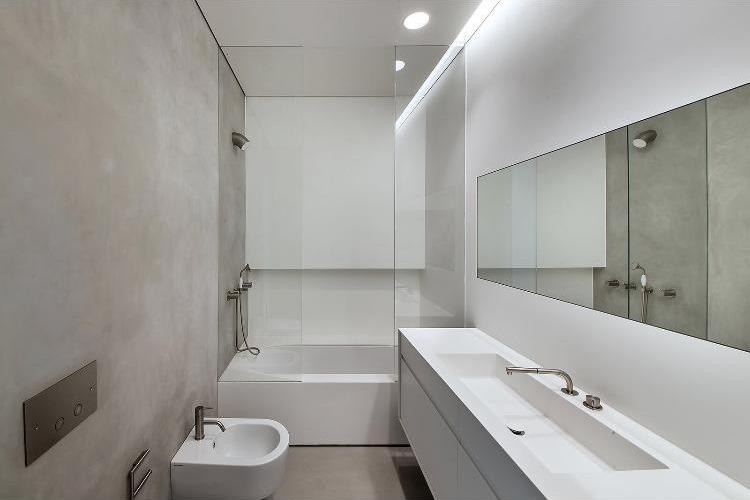 שיש יצוק לחדרי אמבט